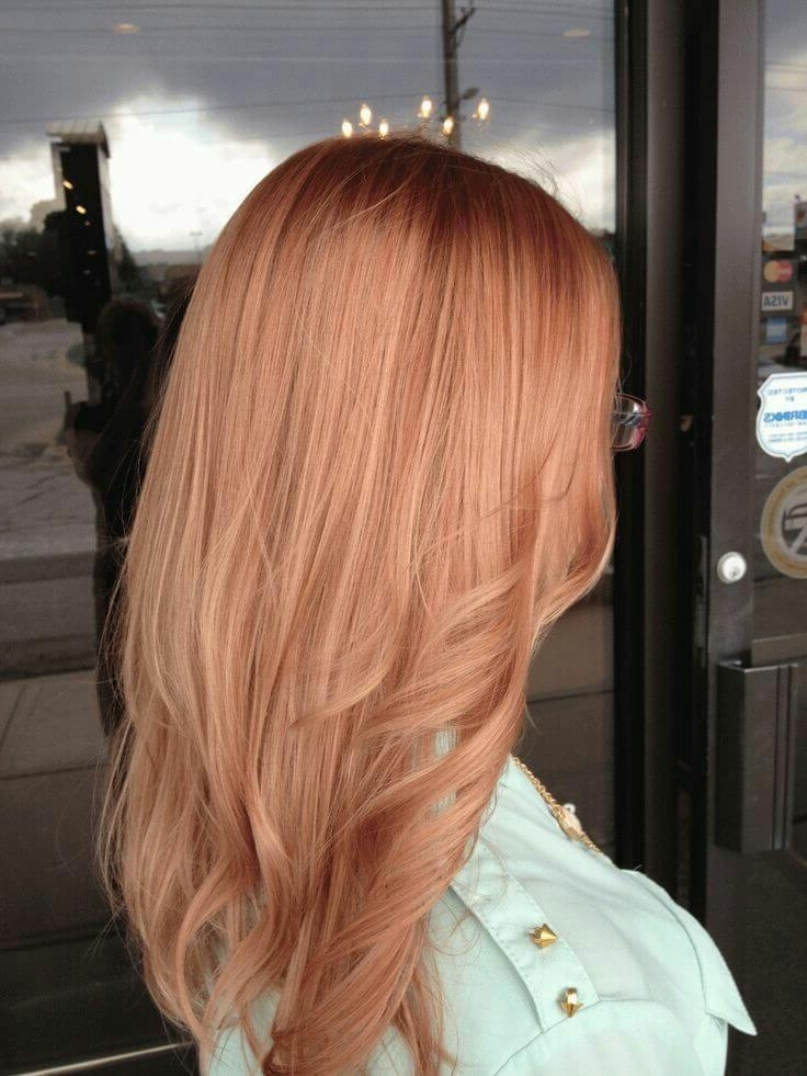 50 Of The Most Trendy Strawberry Blonde Hair Colors For 2018 With Regard To Light Ash Locks Blonde Hairstyles (View 10 of 25)