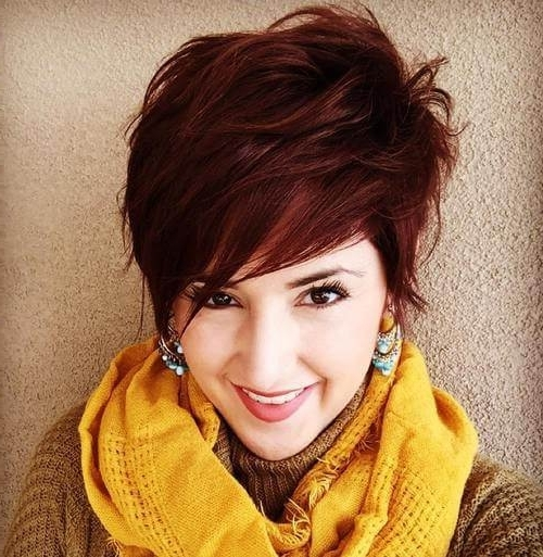 50 Pixie Haircuts You'll See Trending In 2018 With Regard To Most Recently Messy Tapered Pixie Hairstyles (View 16 of 25)