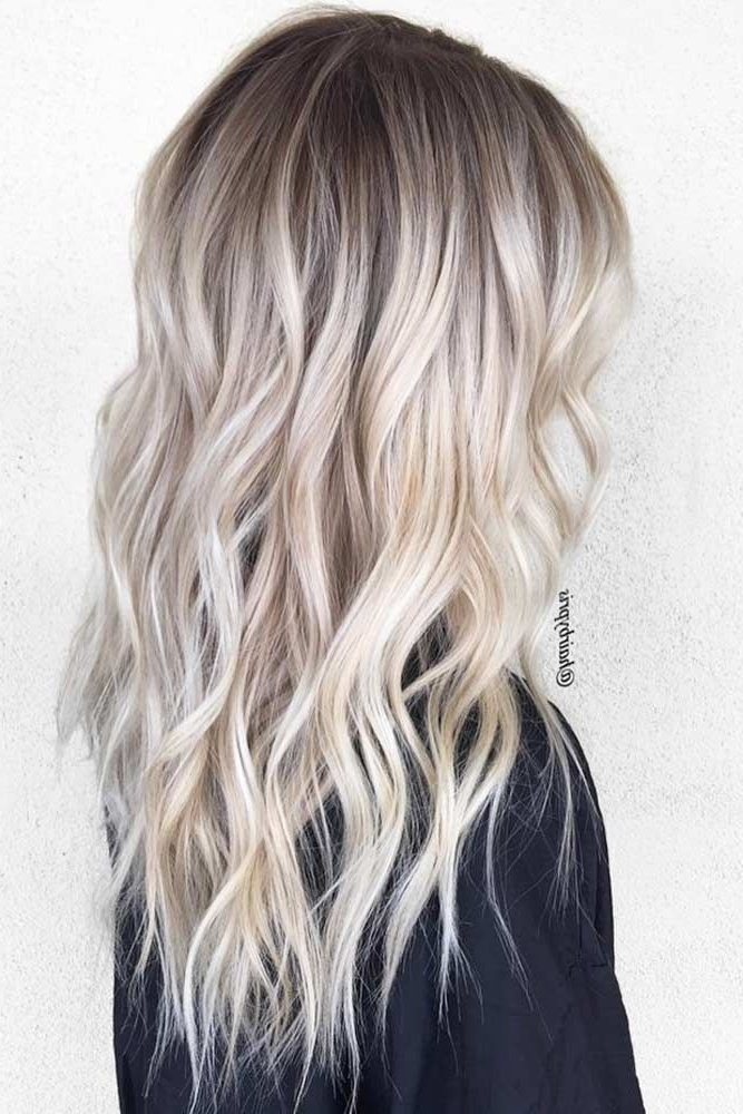 50 Platinum Blonde Hair Shades And Highlights For 2018 | Hair Styles Pertaining To Blonde Hairstyles With Platinum Babylights (View 14 of 25)