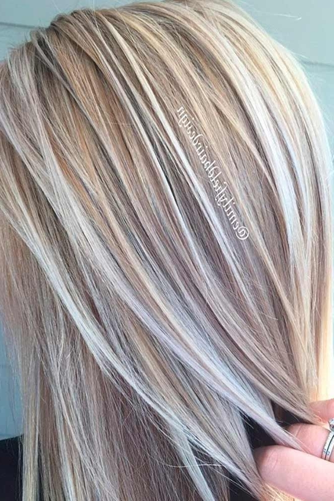 50 Platinum Blonde Hair Shades And Highlights For 2018 | Hairstyle With Regard To White Blonde Hairstyles For Brown Base (View 19 of 25)