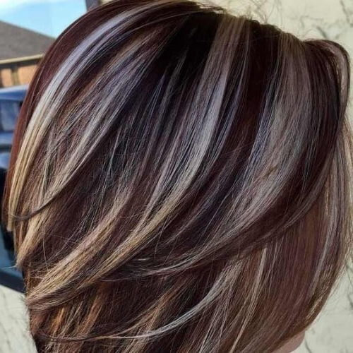 50 Stunning Brown Hair With Blonde Highlights Ideas | All Women For Cream Colored Bob Blonde Hairstyles (View 13 of 25)