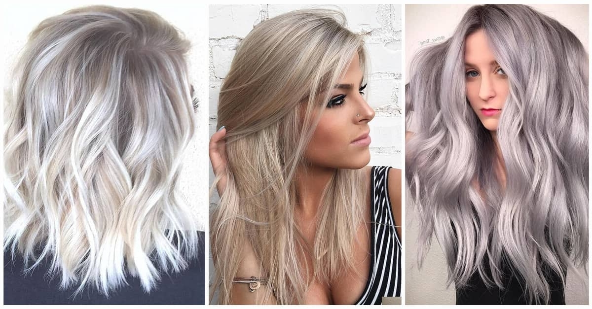 50 Unforgettable Ash Blonde Hairstyles To Inspire You Throughout Ash Blonde Half Up Hairstyles (View 10 of 25)