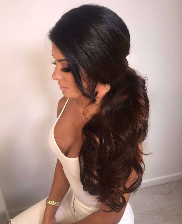 51 Glorious Ponytail Hairstyles For Women And Men – Hairsdos Throughout Ponytail Cascade Hairstyles (View 5 of 25)