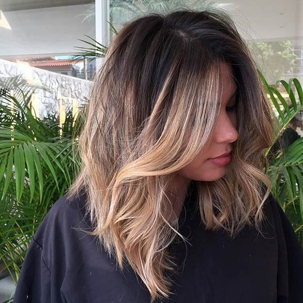 51 Trendy Bob Haircuts To Inspire Your Next Cut   Page 2 Of 5   Stayglam Pertaining To Long Bob Blonde Hairstyles With Babylights (View 15 of 25)