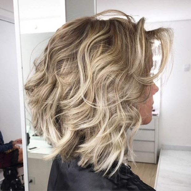 51 Trendy Bob Haircuts To Inspire Your Next Cut | Page 4 Of 5 | Stayglam Intended For Curly Caramel Blonde Bob Hairstyles (View 20 of 25)