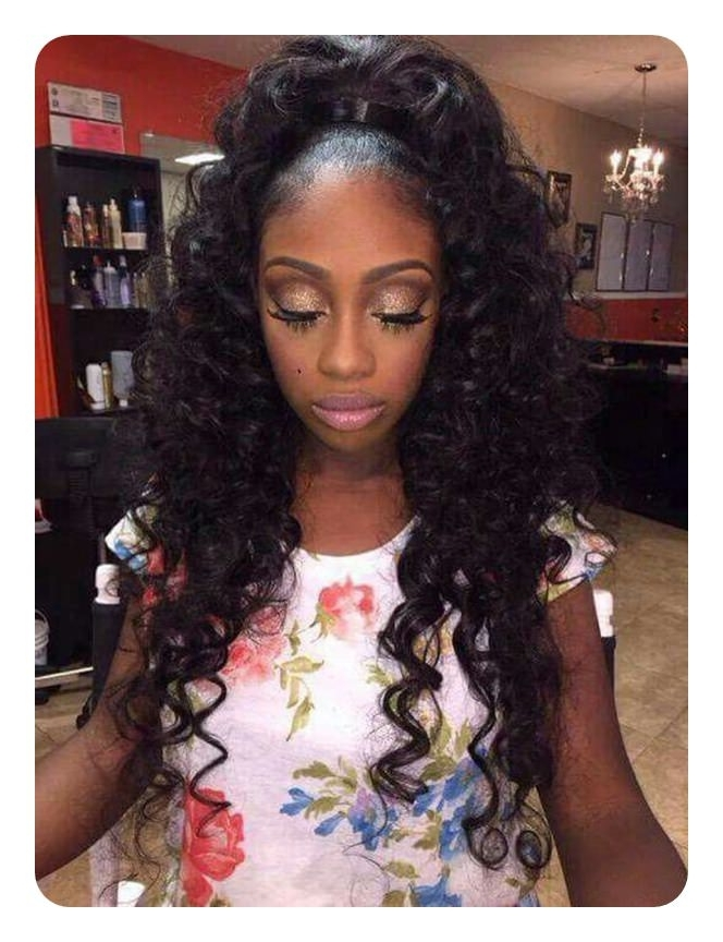 52 Classy Weave Ponytail Ideas You Are Sure To Love Intended For Weave Ponytail Hairstyles (View 2 of 25)