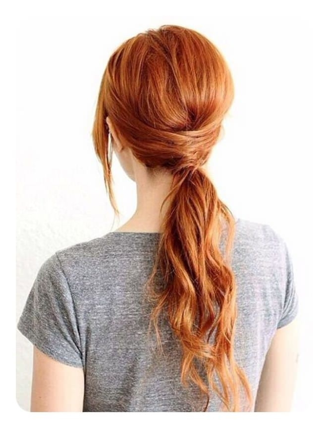 52 Classy Weave Ponytail Ideas You Are Sure To Love Regarding Sexy White Blond Weave Ponytail Hairstyles (View 23 of 25)