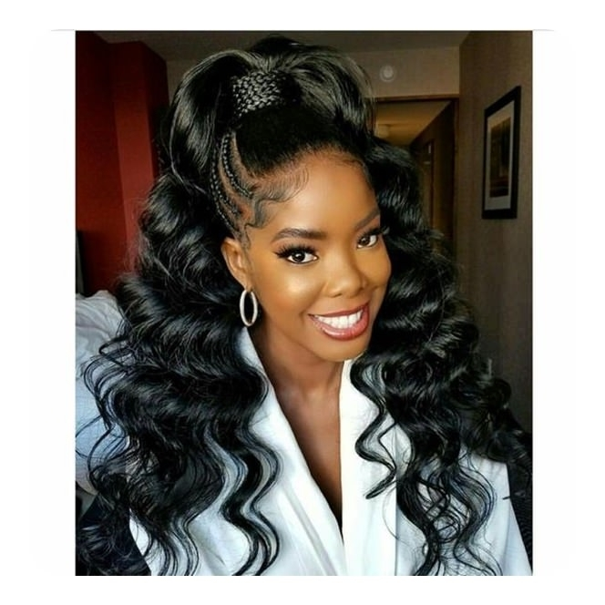 Featured Photo of Weave Ponytail Hairstyles