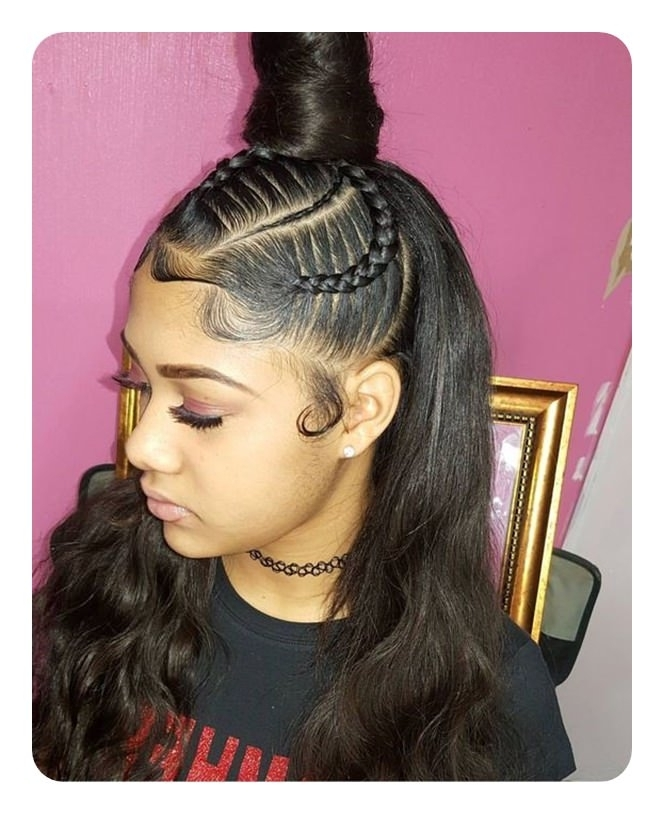 52 Classy Weave Ponytail Ideas You Are Sure To Love With Weave Ponytail Hairstyles (View 8 of 25)