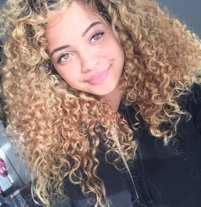 52 Perfect Hairstyles & Hair Color For Hazel Eyes We All Love Inside Warm Blonde Curls Blonde Hairstyles (View 23 of 25)