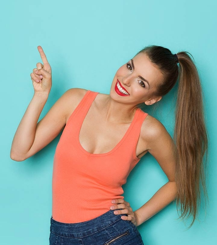 53 Easy To Do Ponytail Hairstyles For Girls Within Simple Blonde Pony Hairstyles With A Bouffant (View 15 of 25)