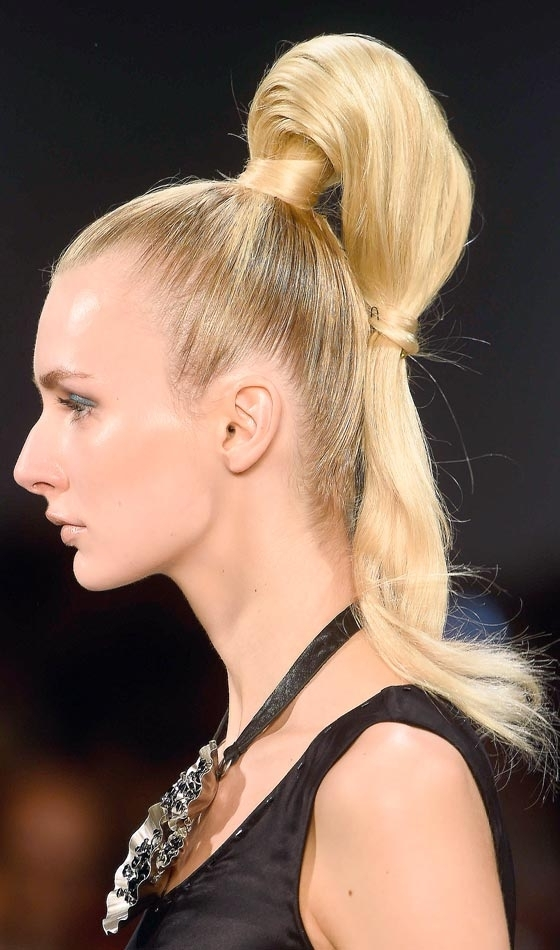 53 Easy To Do Ponytail Hairstyles For Girls Within Straight High Ponytail Hairstyles With A Twist (View 13 of 25)