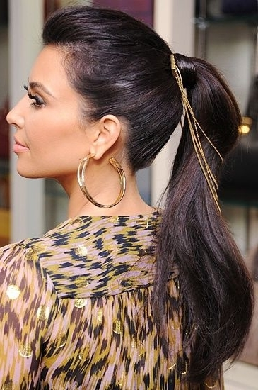 Featured Photo of Hot High Rebellious Ponytail Hairstyles