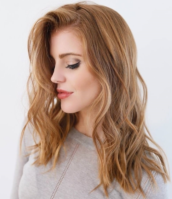 53 Strawberry Blonde Hair At Its Best – Style Easily With Dishwater Waves Blonde Hairstyles (View 9 of 25)