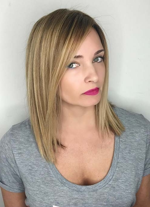 55 Short Hairstyles For Women With Thin Hair   Fashionisers In Straight Blonde Bob Hairstyles For Thin Hair (View 18 of 25)