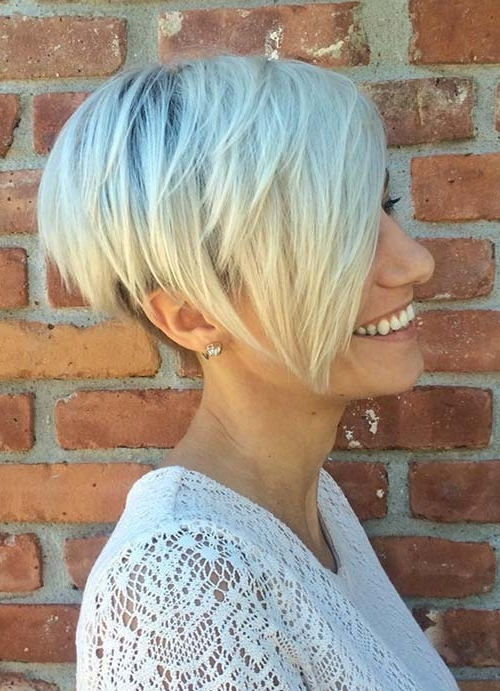 55 Short Hairstyles For Women With Thin Hair | Fashionisers Inside Two Toned Pony Hairstyles For Fine Hair (View 16 of 25)