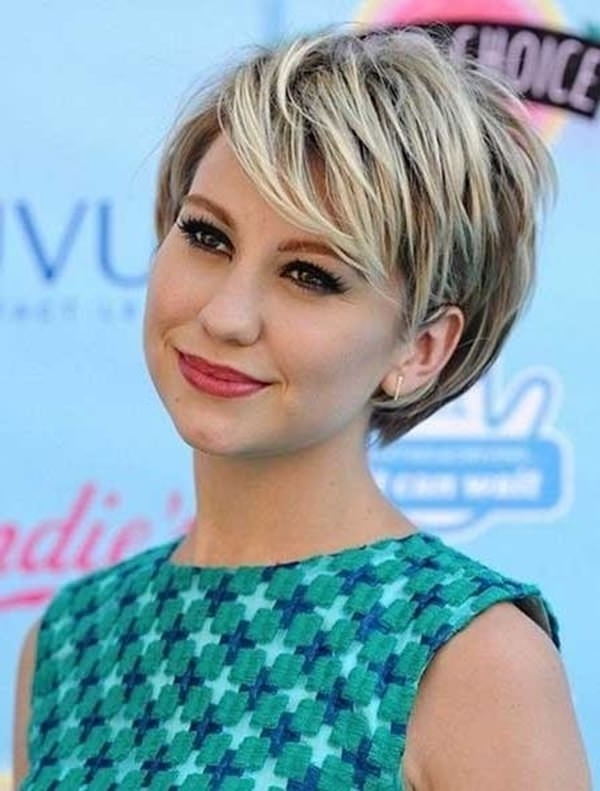 58 Most Beautiful Round Face Hairstyles Ideas – Style Easily Regarding 2018 Asymmetrical Long Pixie Hairstyles For Round Faces (View 14 of 25)