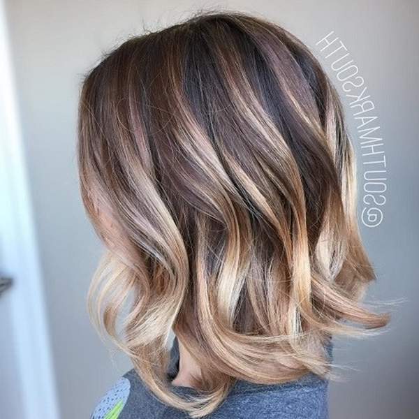 58 Of The Most Stunning Highlights For Brown Hair For White Blonde Hairstyles For Brown Base (View 24 of 25)