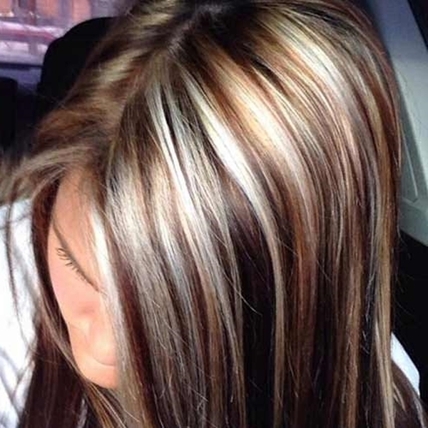 58 Of The Most Stunning Highlights For Brown Hair Throughout Blonde Hairstyles With Platinum Babylights (View 17 of 25)