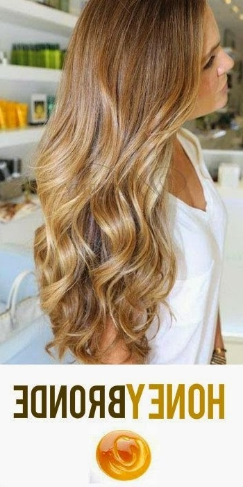 6 Amazing Honey Blonde Hair Colors | Hairstyles & Hair Color For Inside Browned Blonde Peek A Boo Hairstyles (View 9 of 25)