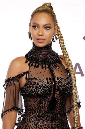 6 Beyonce High Ponytail Styles (No One Does It Better!) With Regard To Large And Loose Braid Hairstyles With A High Pony (View 24 of 25)