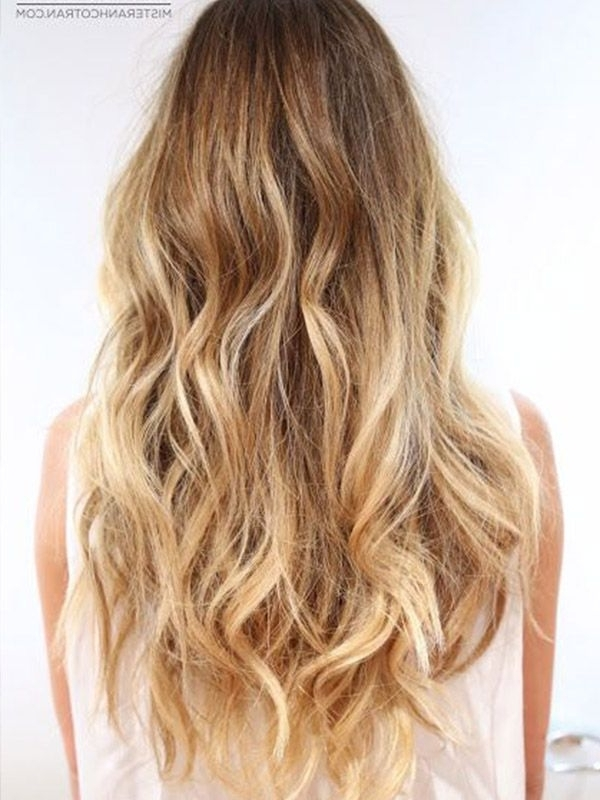 6 Cap Safe Graduation Hairstyles | Hairstyles | Pinterest With Regard To Honey Hued Beach Waves Blonde Hairstyles (View 13 of 25)