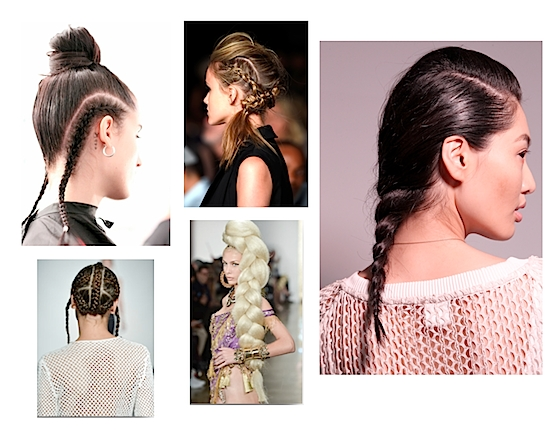 6 Spring/summer 2015 Hairstyle Trends: Curly Texture, Ponytails In Curly Pony Hairstyles With A Braided Pompadour (Gallery 25 of 25)