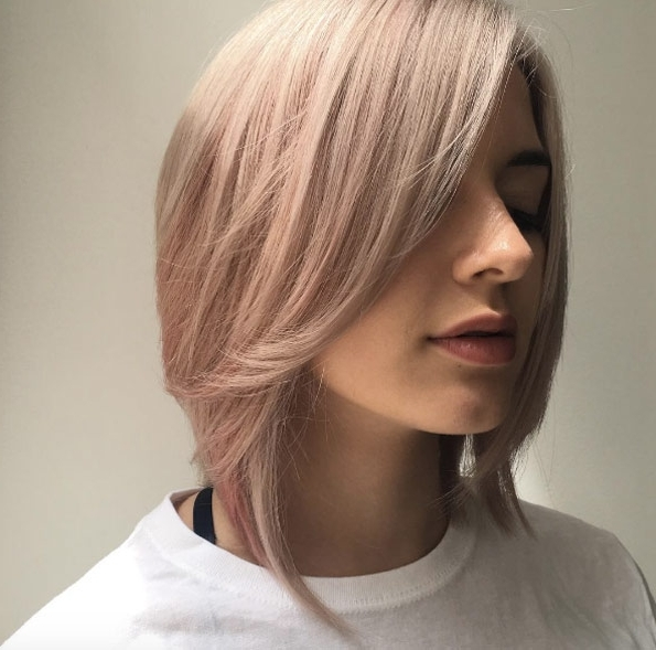 60 A Line Hairstyles You Can Rock At Any Age – Style Skinner Pertaining To Steeply Angled A Line Lob Blonde Hairstyles (View 11 of 25)