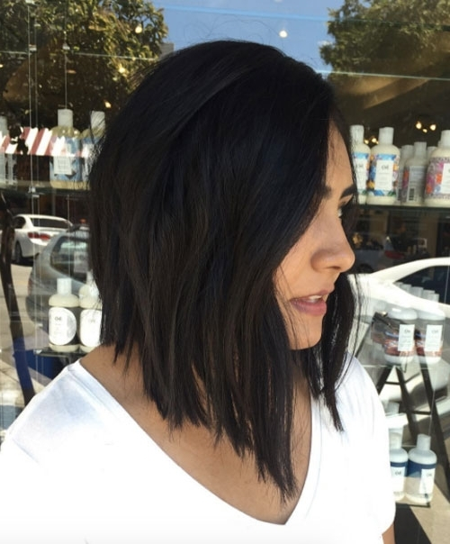 60 A Line Hairstyles You Can Rock At Any Age – Style Skinner With Regard To Steeply Angled A Line Lob Blonde Hairstyles (View 25 of 25)