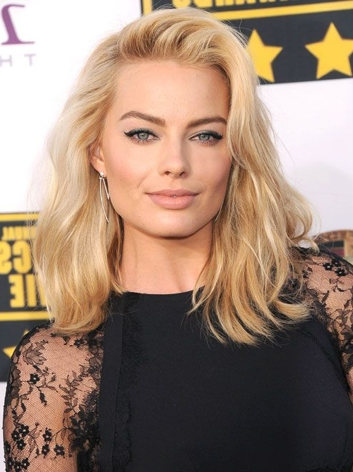 60 Best Lob Haircut Ideas Of 2018 – Best Long Bob Haircut And Inside Blonde Lob Hairstyles With Middle Parting (View 18 of 25)
