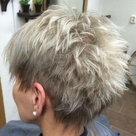 Featured Photo of Feathered Ash Blonde Hairstyles