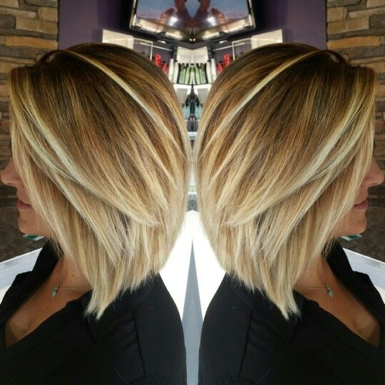 60 Hottest Bob Hairstyles For Everyone! (Short Bobs, Mobs, Lobs Within Icy Blonde Shaggy Bob Hairstyles (View 19 of 25)
