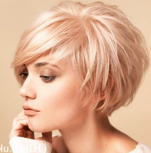 60 Layered Bob Styles: Modern Haircuts With Layers For Any Occasion Within Newest Blonde Pixie Hairstyles With Short Angled Layers (View 8 of 25)
