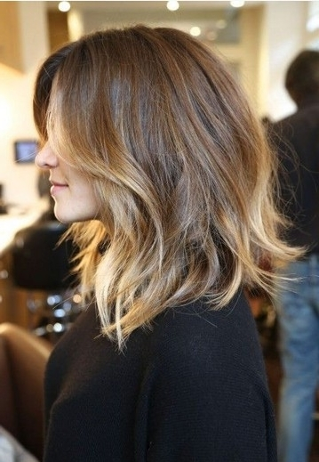 60+ Popular Shoulder Length Hairstyles For Tousled Shoulder Length Ombre Blonde Hairstyles (View 7 of 25)