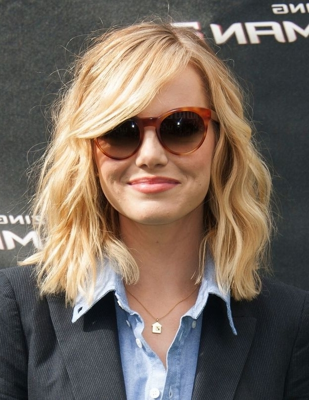 60+ Popular Shoulder Length Hairstyles Within Shaggy Chin Length Blonde Bob Hairstyles (View 24 of 25)