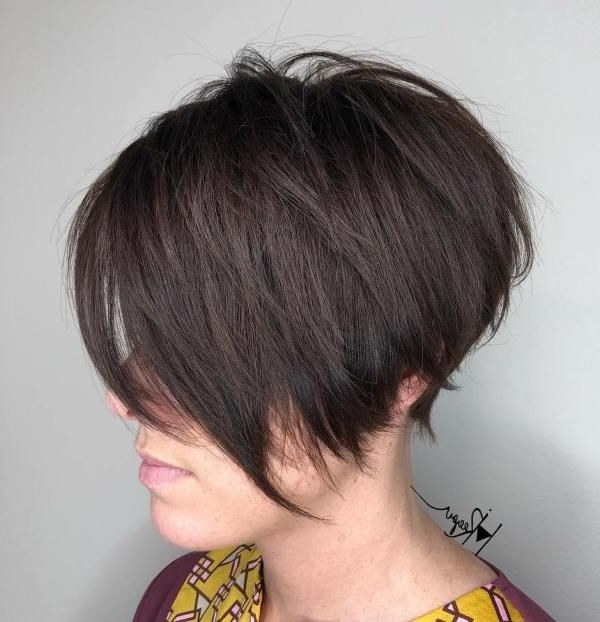 60 Short Shag Hairstyles That You Simply Can't Miss | My Style With Most Up To Date Angled Pixie Bob Hairstyles With Layers (View 6 of 25)
