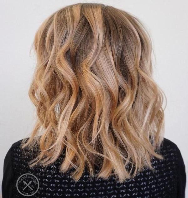 60 Stunning Shades Of Strawberry Blonde Hair Color | Brown Blonde Regarding Brown Blonde Balayage Lob Hairstyles (View 23 of 25)