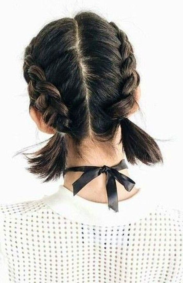 60 Trending Short Hair Styles | Hair Style Techniques | Pinterest With Loose 3D Dutch Braid Hairstyles (View 10 of 25)
