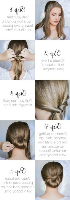 63 Best Second Day Hair Images On Pinterest | Hair And Makeup Throughout Dyed Simple Ponytail Hairstyles For Second Day Hair (View 13 of 25)