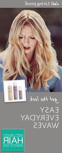 64 Best Loose & Wavy Images On Pinterest | Cute Hair, Great Hair And Throughout Loosely Coiled Tortoiseshell Blonde Hairstyles (View 25 of 25)
