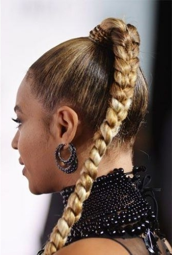 64 Bitchin' Braided Ponytails (Tons Of Cute Ideas) Page 2 Of 4 Intended For Long Braided Ponytail Hairstyles (Gallery 13 of 26)