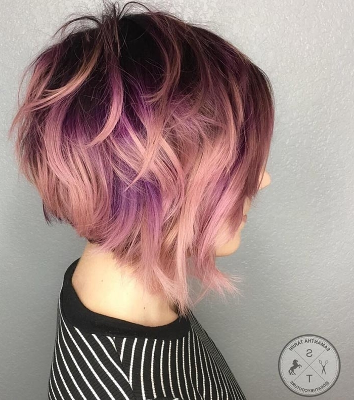 65 Rose Gold Hair Color Ideas For 2017 – Rose Gold Hair Tips Intended For Recent Rose Gold Pixie Hairstyles (View 24 of 25)