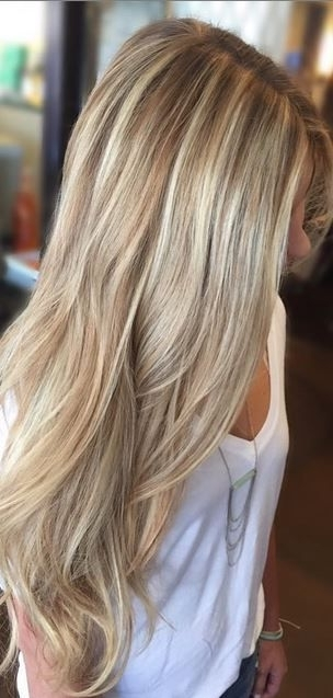 69 Cute Layered Hairstyles And Cuts For Long Hair | Hair & Beauty Within Layered Bright And Beautiful Locks Blonde Hairstyles (View 2 of 25)