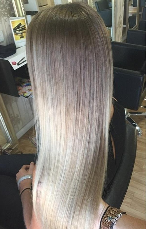 69 Gorgeous Blonde Balayage Hairstyles You Will Love In Grown Out Balayage Blonde Hairstyles (View 9 of 25)