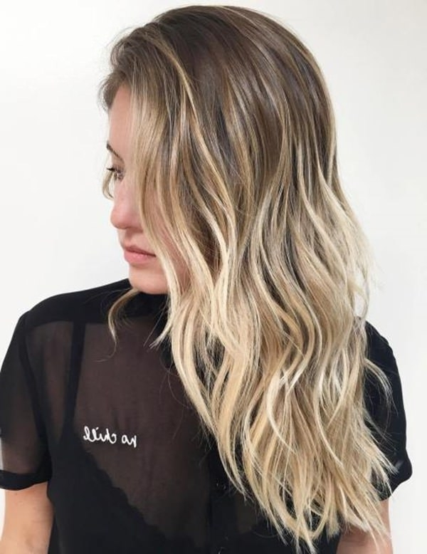 69 Gorgeous Blonde Balayage Hairstyles You Will Love Pertaining To Pale Blonde Balayage Hairstyles (View 3 of 25)