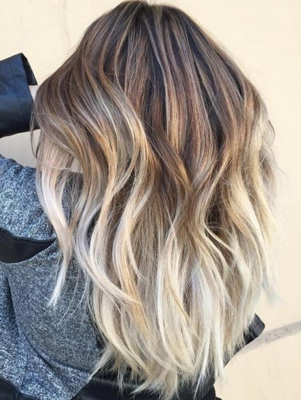69 Gorgeous Blonde Balayage Hairstyles You Will Love Regarding Dark Blonde Into White Hairstyles (View 9 of 25)