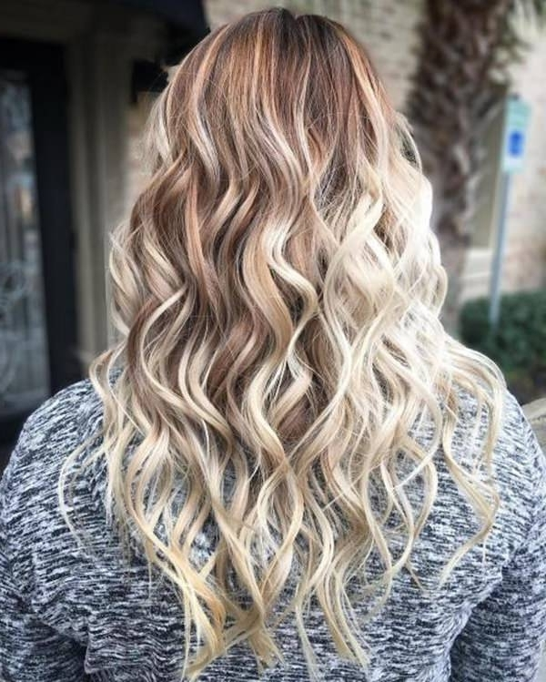 69 Gorgeous Blonde Balayage Hairstyles You Will Love With Regard To Dark Blonde Into White Hairstyles (View 25 of 25)