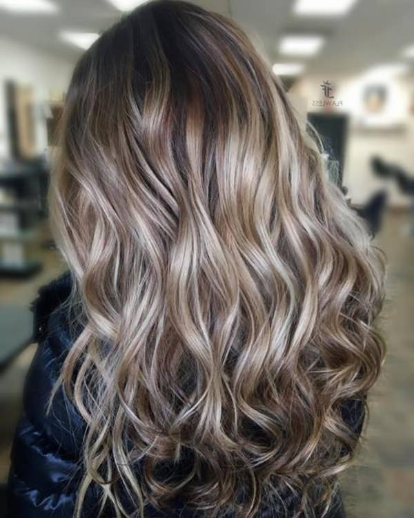 69 Of The Best Blonde Balayage Hair Ideas For You – Style Easily For Icy Highlights And Loose Curls Blonde Hairstyles (View 14 of 25)