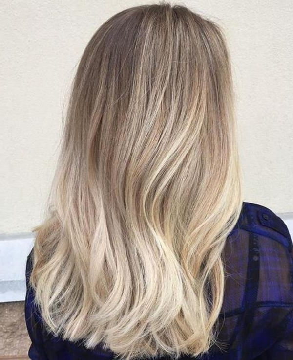 69 Of The Best Blonde Balayage Hair Ideas For You – Style Easily Inside Sleek Blonde Hairstyles With Grown Out Roots (View 15 of 25)