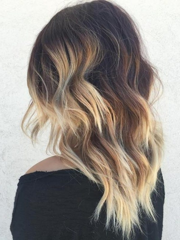 69 Of The Best Blonde Balayage Hair Ideas For You – Style Easily Intended For Dark Blonde Into White Hairstyles (View 12 of 25)